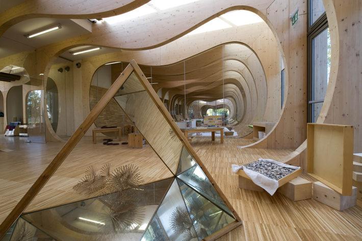 Nido d'infanzia a Guastalla, 2015. Progetto Mario Cucinella Architects.