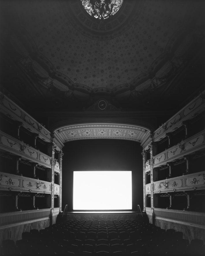 Hiroshi Sugimoto, Teatro dei Rozzi, Siena, 2014. Summer Time.