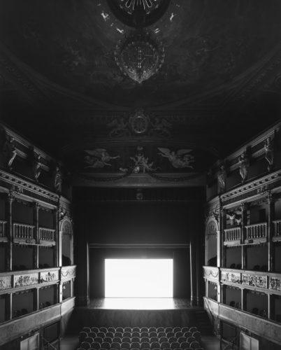 Hiroshi Sugimoto, Teatro Comunale Masini, Faenza, 2015. Le Notti di Cabiria (Screen side).