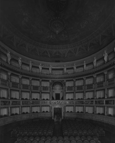 Hiroshi Sugimoto, Teatro Comunale Masini, Faenza, 2015. Le Notti di Cabiria (Seating side).