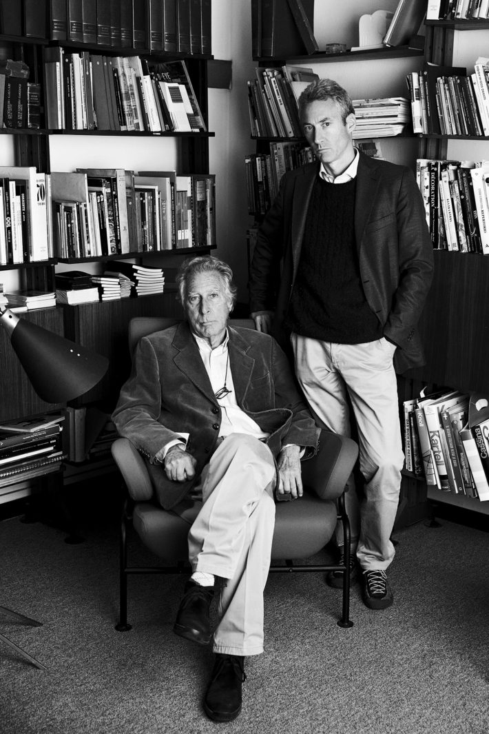 Marco and Francesco Albini, Milan, 2000. Courtesy: Fondazione Franco Albini.