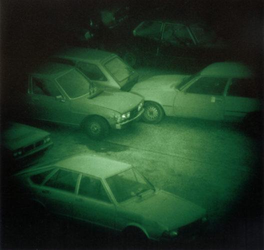 Nacht 9 II (Night 9 II), 1992. © Thomas Ruff.
