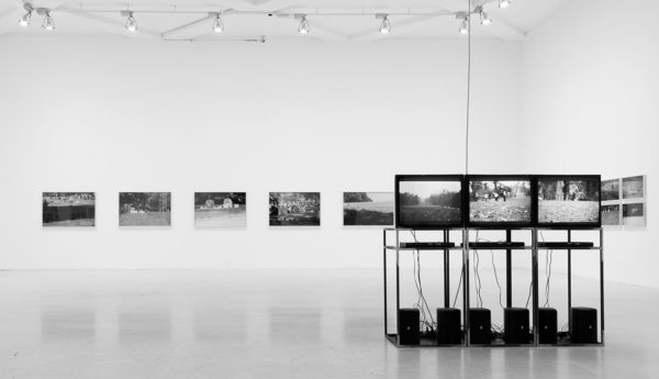 Il parco, vista dell'installazione alla Triennale, Milano, 2008.