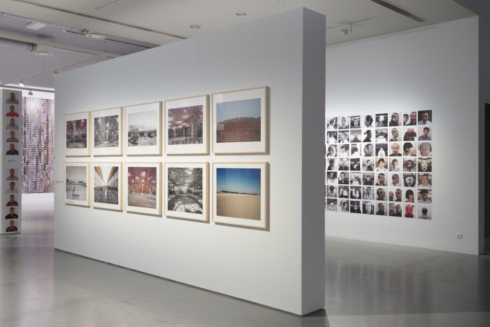 Ai WeiWei, Mirror, FOMU, Antwerp, 2017.