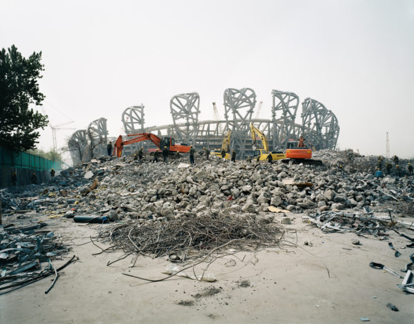 Ai Weiwei, National Stadium, 2005-2008.