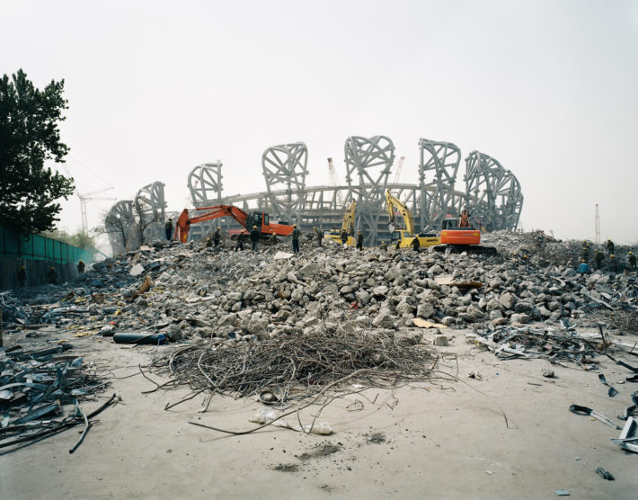 Ai Weiwei, National Stadium, 2005-2008.
