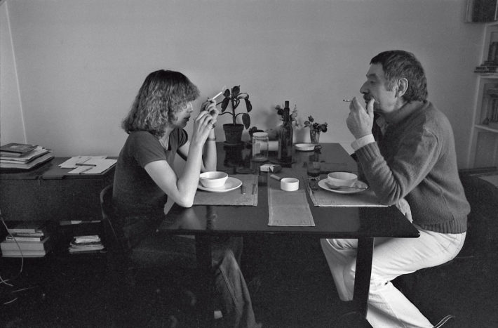Barbara Radice e Ettore Sottsass, 1977. Autoscatto.