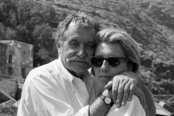 Ettore Sottsass e Barbara Radice, 1986.