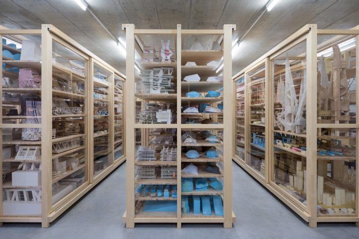 Archivio di Herzog & de Meuron, Jacques Herzog & Pierre de Meuron Kabinett (Foundation), 2015. Foto: © Iwan Baan.