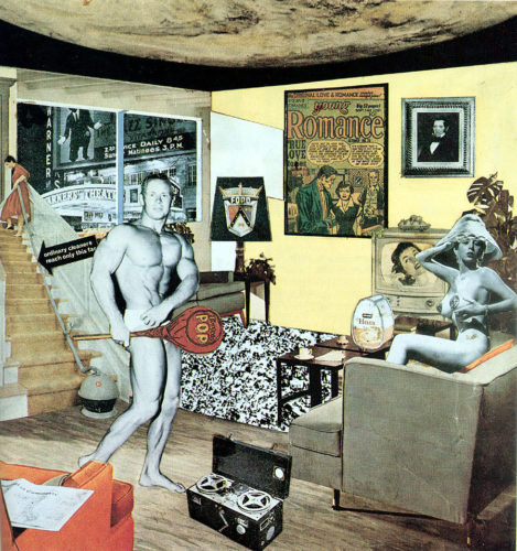 Richard Hamilton, Just what is it that makes today's homes so different, so appealing?, 1956. Kunsthalle Tübingen, Tübingen.