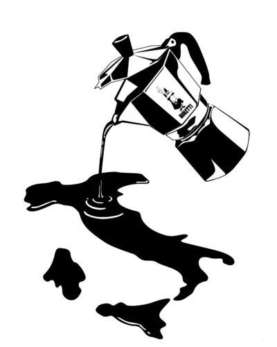 La moka, ideata da Alfonso Bialetti nel 1933.