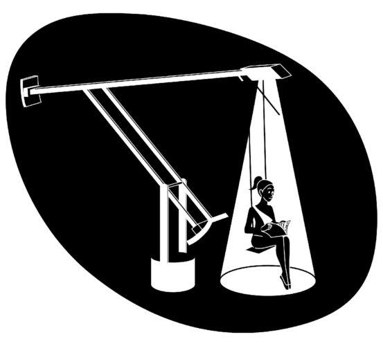 Lampada Tizio di Richard Sapper per Artemide, 1972.