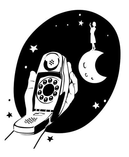 Il telefono Grillo di Marco Zanuso e Richard Sapper per Siemens, 1965.