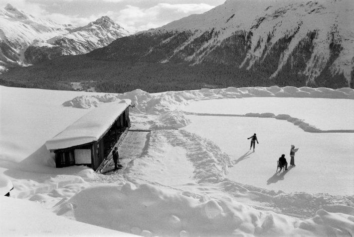 St. Moritz, Engadine, 1984. Photo: © Paolo Rosselli.
