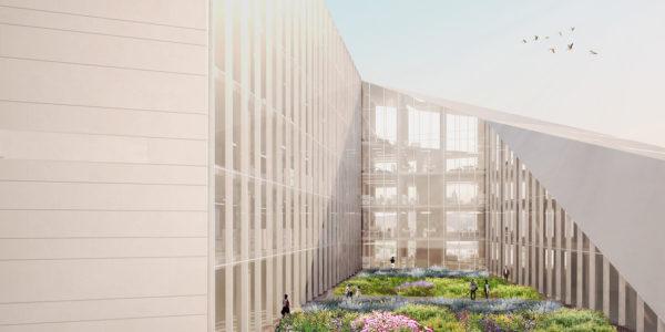 La Cour Verte, progetto di Stefano Boeri Architetti. © Stefano Boeri Architetti.