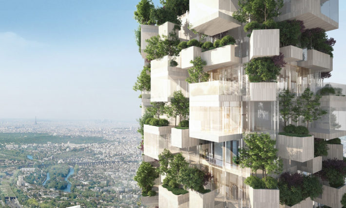 Forêt Blanche, project by Stefano Boeri Architects. ©Stefano Boeri Architects.