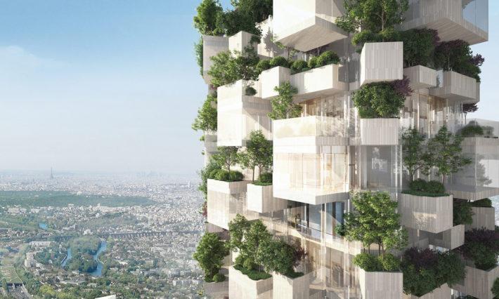 Forêt Blanche, progetto di Stefano Boeri Architetti. © Stefano Boeri Architetti.
