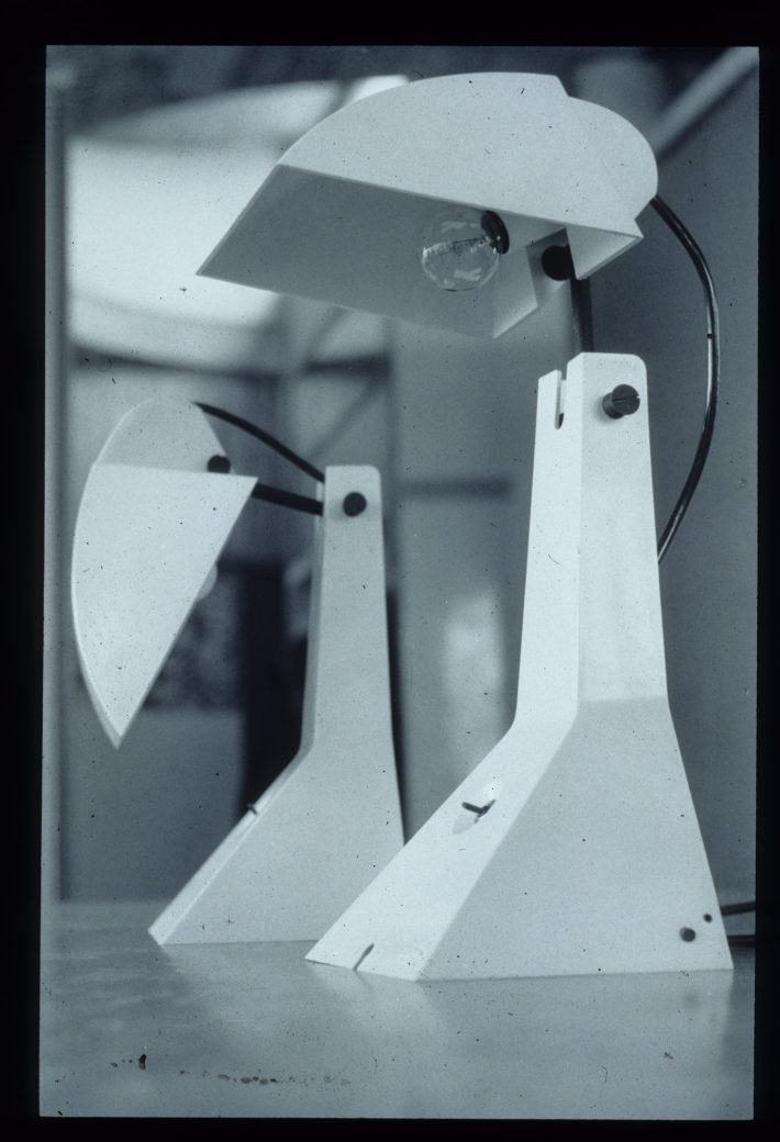 Umberto Riva, Lampada E63, 1963.