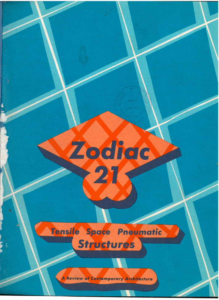 Cover of Zodiac, no. 21, September 1972.