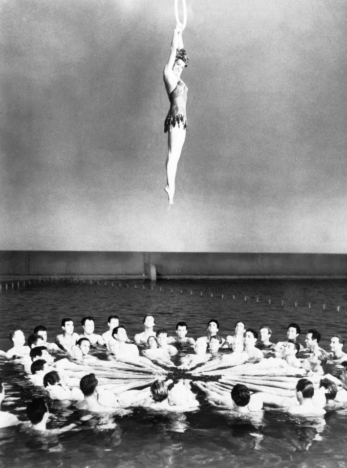 Esther Williams in a scene from the film Million Dollar Mermaid, 1952, directed by Mervyn LeRoy. © Getty Images