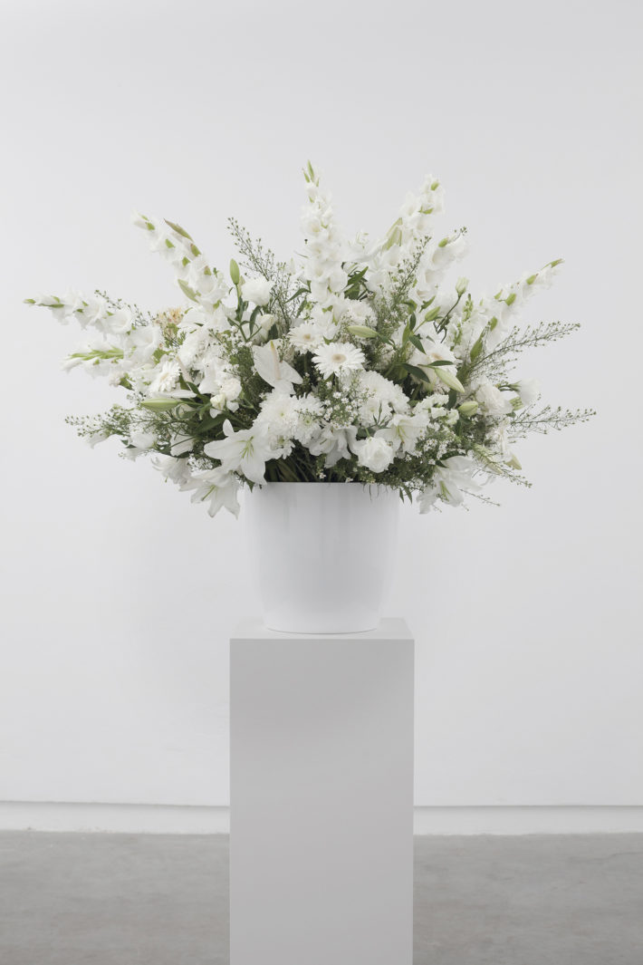 Willem de Rooij, Bouquet IX, 2012. Foto: Szymon Rogiński. Courtesy Galerie Buchholz, Berlin / Cologne / New York.