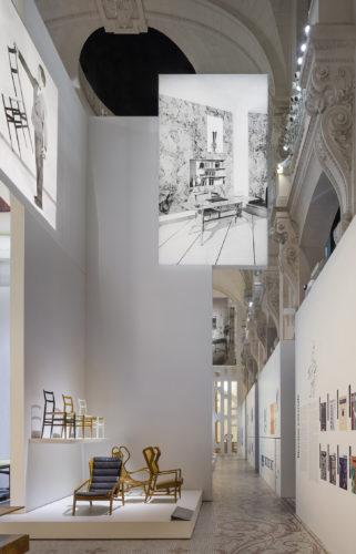 Sala della mostra Tutto Ponti, Gio Ponti archi-designer, Musée des Arts Décoratifs, Parigi, 2018. © Luc Boegly.