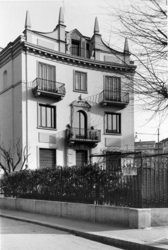 Casa di via Randaccio 9, Milano, 1924-26, progetto di Gio Ponti ed Emilio Lancia. © Gio Ponti Archives, Milano.