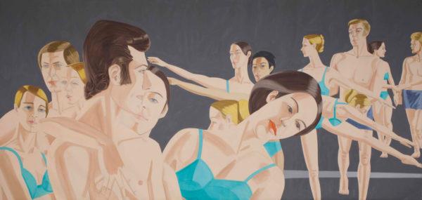 Alex Katz, Private Domain, 1969, olio su lino. © Alex Katz, VG Bild-Kunst, Bonn 2018, Courtesy Galerie Thaddaeus Ropac, London / Paris / Salzburg. Foto: Charles Duprat.