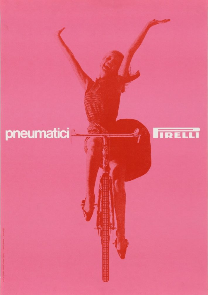 Massimo Vignelli, Pneumatici Pirelli, 1963. © The Museum of Modern Art / Licensed by SCALA / Art Resource, NY.