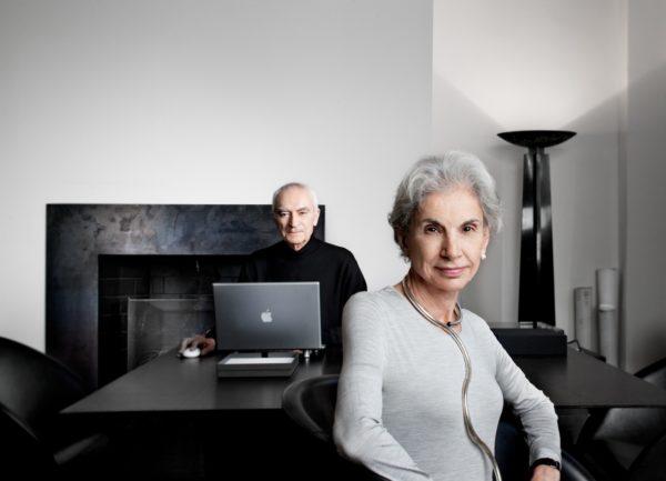 Massimo and Lella Vignelli, New York, 2009. Photo: © John Madere.