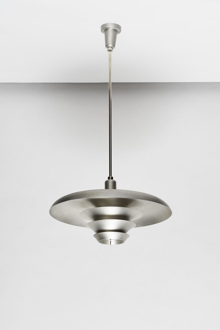 Alfred Schäfter (design and production), suspension lamp, prototype, 1931-32. Photo: © Gunter Binsack, 2018, Stiftung Bauhaus Dessau.