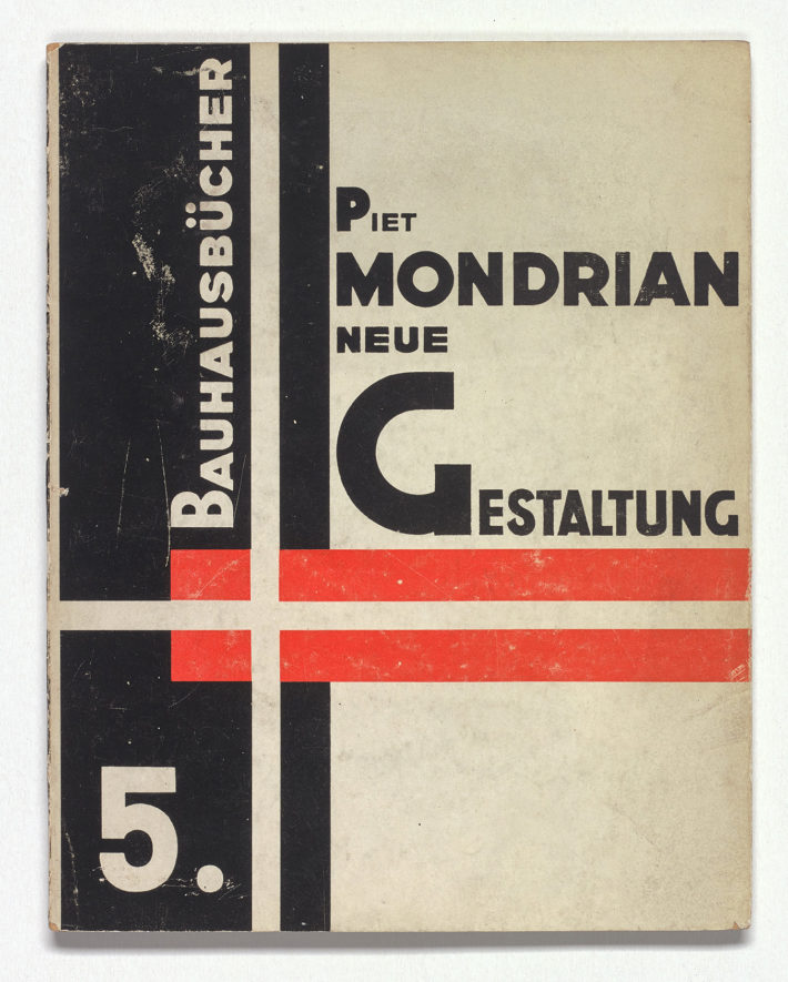 Piet Mondrian, Neue Gestaltung (no. 5 of the Bauhausbücher series), design László Moholy-Nagy, 1925. Private collection, the Netherlands.
