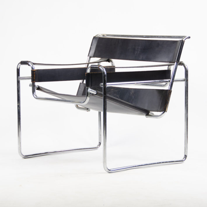 Wassily Chair, also known as Model B3, designed by Marcel Breuer, 1925. © D Rose Mode.