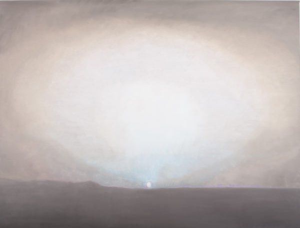 Luc Tuymans, Sundown, 2009, olio su tela, collezione privata. Courtesy David Zwirner, New York/London. Foto: Studio Luc Tuymans, Anversa.