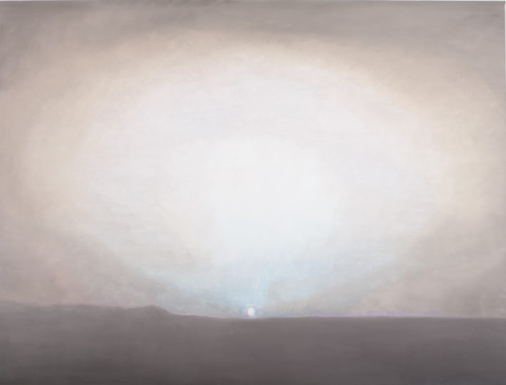 Luc Tuymans, Sundown, 2009, oil on canvas, private collection. Courtesy David Zwirner, New York/London. Photo: Studio Luc Tuymans, Antwerp.
