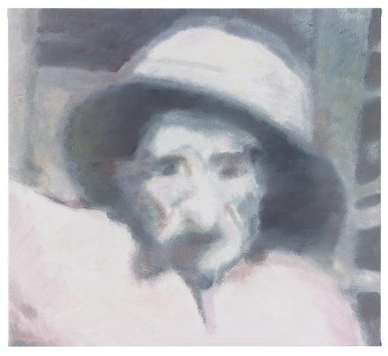 Luc Tuymans, Issei Sagawa, 2014, olio su tela, Tate. Opera acquisita con i fondi di Tate Members,Tate International Council, the Nicholas Themans Trust and Art Fund, 2017. Foto: Studio Luc Tuymans, Anversa.