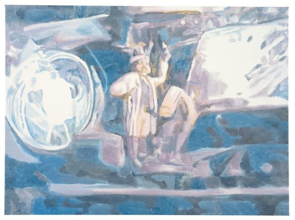 Luc Tuymans, Magic, 2007, olio su tela, collezione privata, Bruxelles. Foto: Studio Luc Tuymans, Anversa.