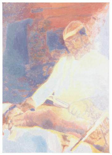 Luc Tuymans, Cook, 2013, olio su tela, collezione privata. Foto: Studio Luc Tuymans, Anversa.