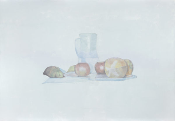 Luc Tuymans, Untitled (Still Life), 2002, olio su tela, Pinault Collection. Foto: Studio Luc Tuymans, Anversa.