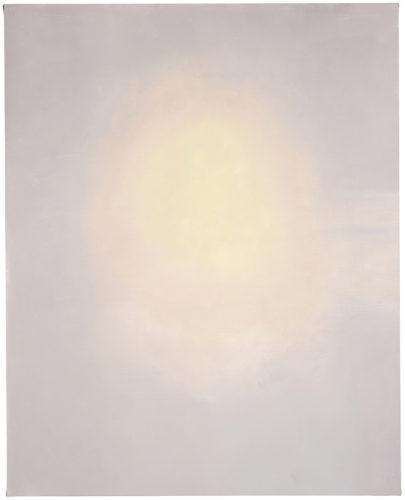 Luc Tuymans,Candle, 2017, olio su tela, collezione privata. Courtesy e foto: Studio Luc Tuymans, Anversa.