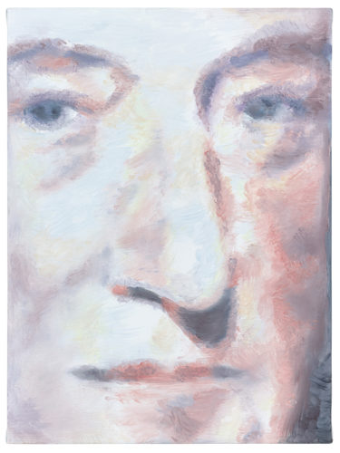 Luc Tuymans, William Robertson, 2014, olio su tela, The Broad Art Foundation. Foto: Studio Luc Tuymans, Anversa.