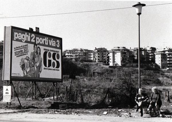 Tor di Quinto, Roma, 1980. Foto: Giuseppe Loy, © Archivio Giuseppe Loy.