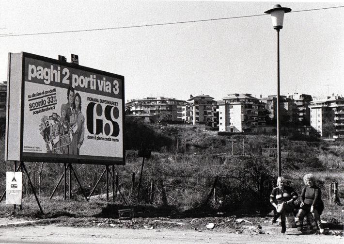 Tor di Quinto, Rome, 1980. Photo: Giuseppe Loy,© Archivio Giuseppe Loy.