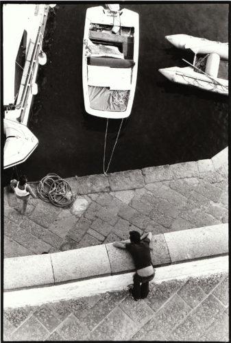 Ponza, 1973. Foto: Giuseppe Loy, © Archivio Giuseppe Loy.