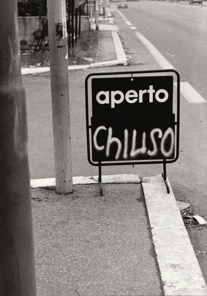 Corso Francia, Rome, 1981. Photo: Giuseppe Loy,© Archivio Giuseppe Loy.